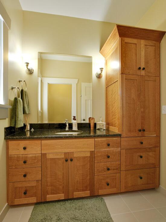 Шкаф для ванной комнаты