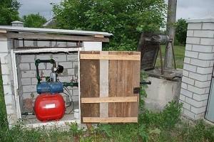 Строительство водопровода на даче