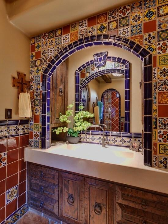 испанская плитка в ванную