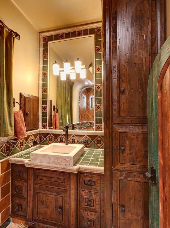 испанская плитка для ванной фото