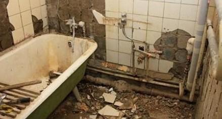 Подготовка к отделке ванной комнаты плиткой