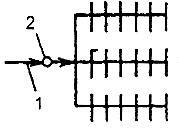 тупиковая схема водопровода