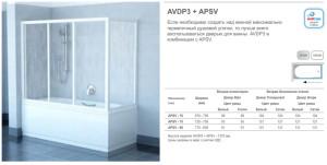AVDP3 + APSV