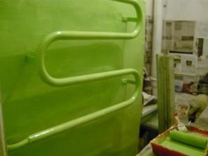 Эконом вариант для ванной на даче покраска