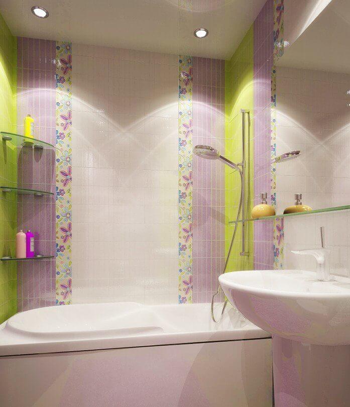 светодиодный светильник в ванную комнату
