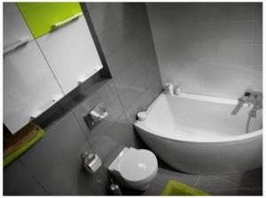 Акриловые ванны асимметричные