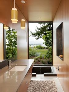 Влагозащищенные светильники для ванной комнаты