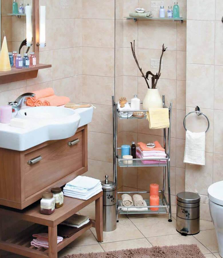 этажерка для ванной