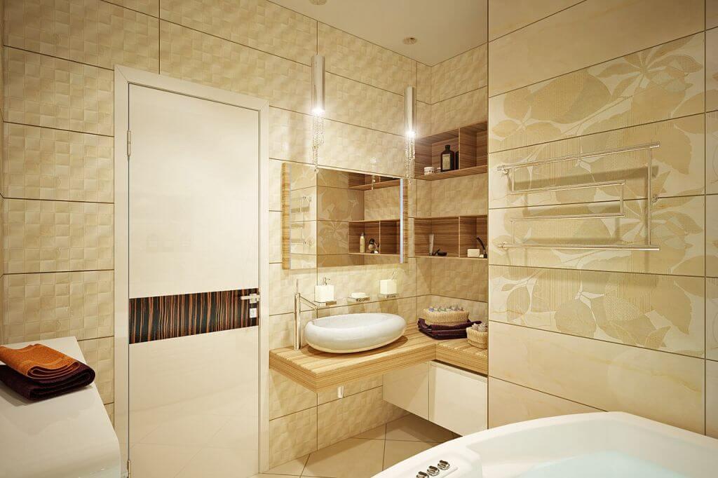 зеркало в ванной комнате фото