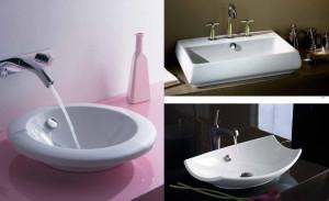 Фарфоровые мойки для ванной