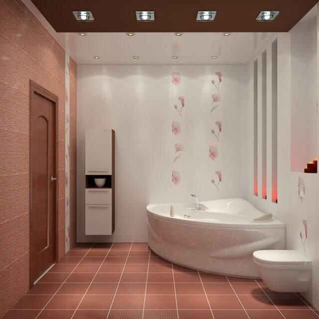 светодиодные светильники в ванную