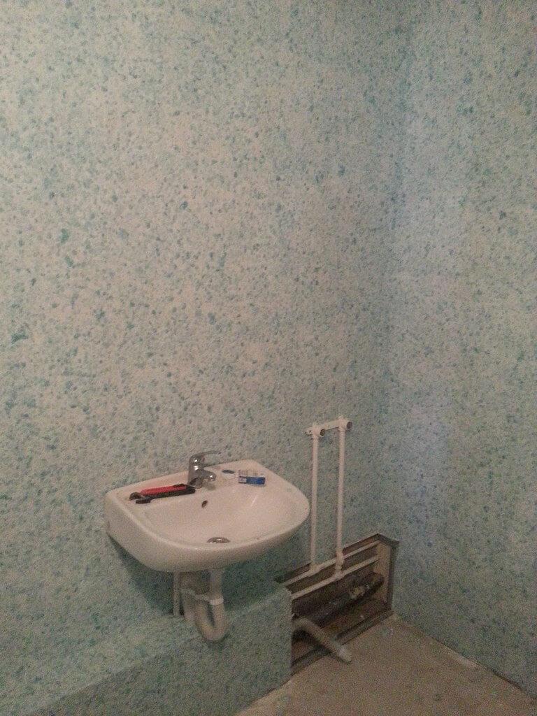 Жидкие обои для ванной комнаты своими руками фото 921