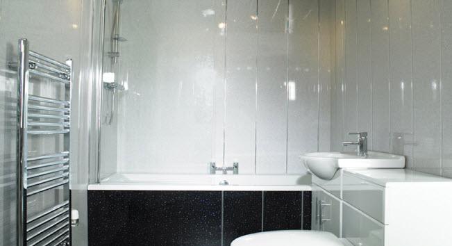 Ванная комната из пвх панелей дизайн фото
