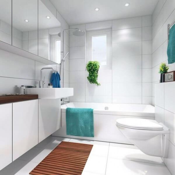 ванная комната фото белая
