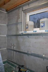 Металлопрофильный каркас под пвх панели в ванной