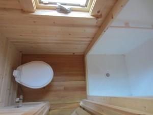 Обшивка ванной в деревянном доме