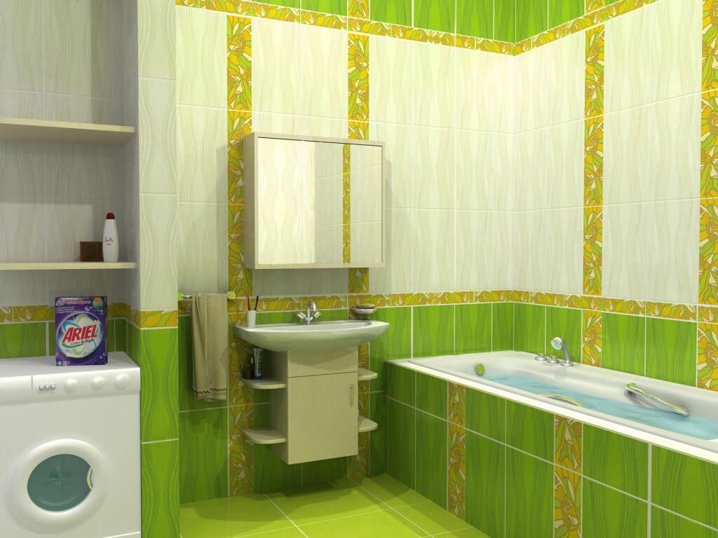 Дизайн ванной комнаты стили