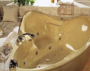 Гидромассажные ванны из литьевого мрамора