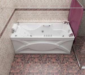Прямоугольные гидромассажные ванны