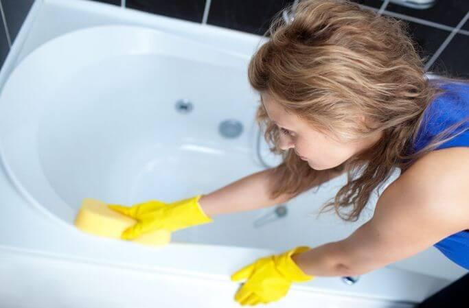 Уход за ванной с гидромассажной ванной