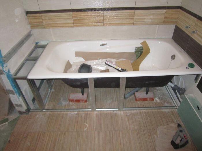 Изготовление акриловая ванна своими руками 94
