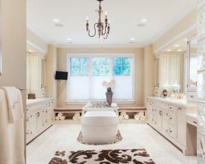 Дизайн большой ванной комнаты фото