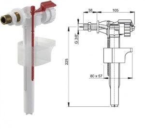 Как выбрать заливной клапан для унитаза