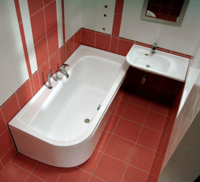 Чешская акриловая ванна